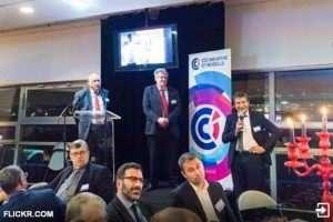 Dîner des entrepreneurs: le président Pélissier avait invité Xavier Dalloz (Flickr)
