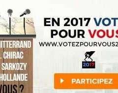 Election présidentielle 2017 : votez pour vous !