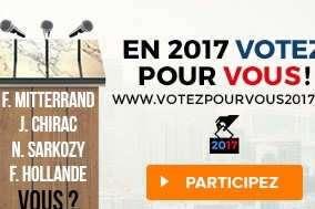 Votez pour vous!