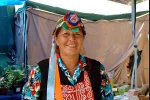 Une femme Mapuche