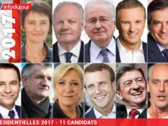 Presidentielle France 2017-11 candidats