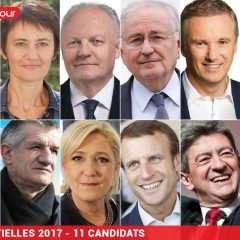 Ce soir, débat entre les onze candidats à l'Elysée