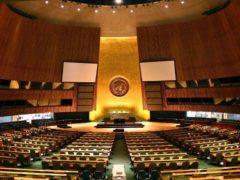 L'Assemblée Générale de l'Organisation des Nations Unies. UN General Assembly/Flick, CC BY