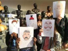 Atelier « Dessine moi un visage ». Lou Viger