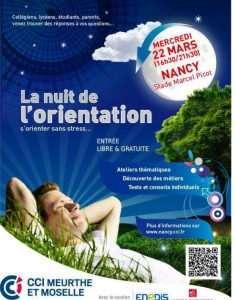 Les nuits de l'Orientation en Lorraine