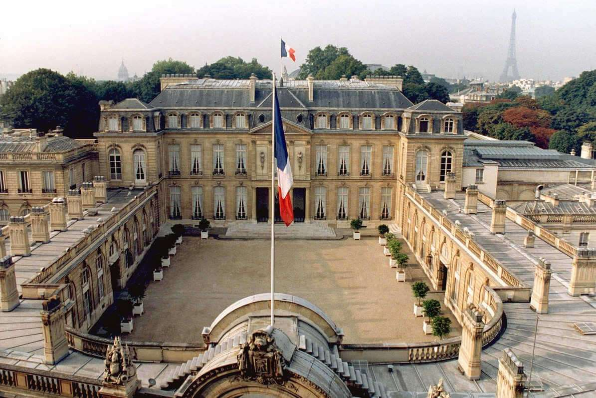 Le palais de l'Elysée (Photo site Elysée)