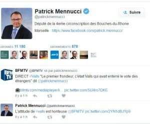 Patrick Mennucci, député PS des Bouches-du-Rhône