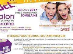 Le 3ème salon de l'entreprise lorraine aura lieu le 30 mars au stade Picot de Tomblaine (54)