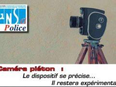 Les caméras piétons pour la police sont expérimentées depuis plusieurs années