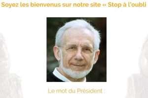 Gabriel Loubradou, président de l'association Stop à l'oubli