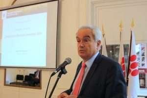 Le directeur général de l'OIV, Jean-Marie Aurand.