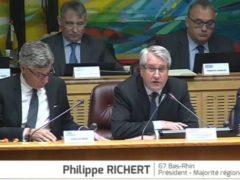 Philippe Richert, président du CR Grand Est