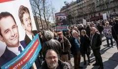 Securité-justice: Hamon, Mélenchon (Photo Julien Hélaine Flickr)