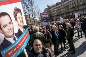 Securité-justice: Hamon, Mélenchon (Photo Julien Hélaine Flickr)