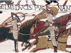 Un détail de la tapisserie de Bayeux. Wikipedia, CC BY-SA