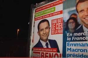 L'affichage politique (capture LCI)