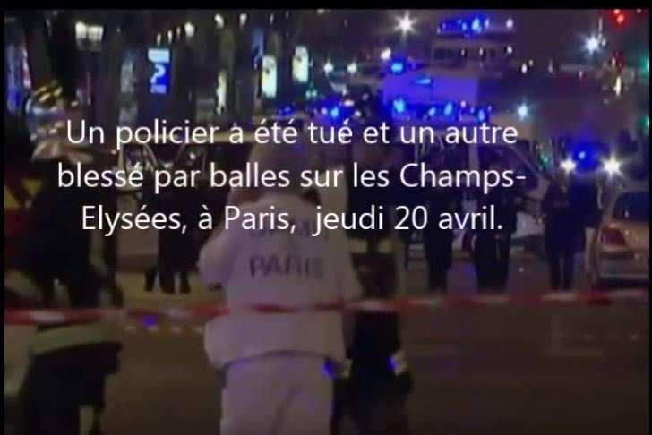 Fusillade sur les Champs-Elysées