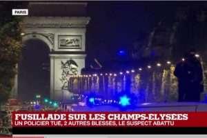 Fusillade à Paris, revendiquée par Daesch (capture France24)