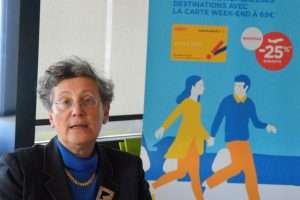 Hélène Abraham, directrice commerciale à Hop! Air France