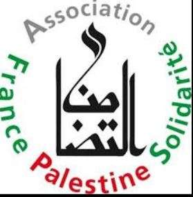 Nancy : soutien aux prisonniers palestiniens
