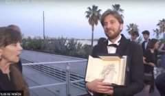 Cannes, la palme d'or -capture EuroNews-
