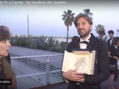Cannes, la palme d'or -capture EuroNews-