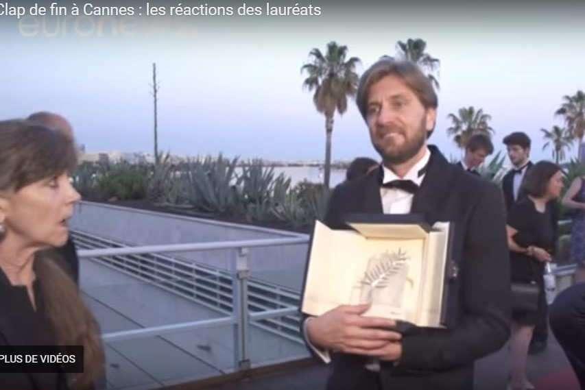 Cannes : La Palme d'or a été attribuée à The Square du Suédois Ruben Östlund.