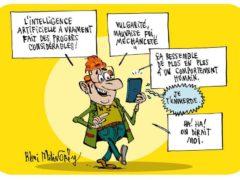 Intelligence (dessin de Rémi Malingrëy)