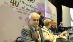 Jean-Marie Aurand, a présenté un bilan global du secteur vitivinicole.