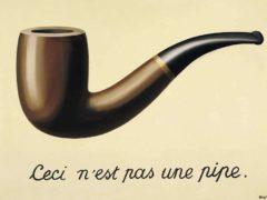 La trahison des images, par René Magritte (1928-1929) Musée d'Art Moderne de Bruxelles,