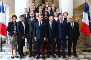 Le gouvernement d'Edouard Philippe (photo Présidence de la République