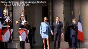 Emmanuel Macron est devenu le 8ème président de la 5ème République