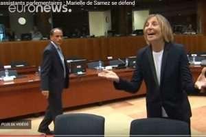 Marielle de Sarnez se défend -capture EuroNews-