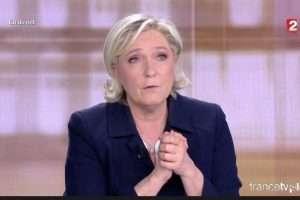 Marine Le Pen a multiplié les attaques (capture France2)