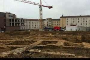 fouilles archéologiques Nancy (Capture France3 Lorraine)