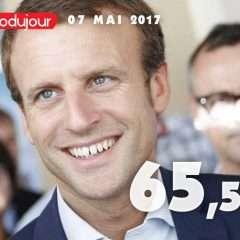 Macron président de la République