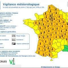 La canicule s'étend sur la France