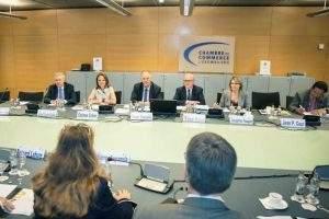 Journée de travail à la Chambre de commerce du Luxembourg
