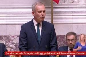 François de Rugy élu président de l'Assemblée nationale (capture Dailymotion)