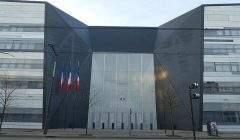 L'entrée du ministère de la Défense, à Paris. Guilhem Vellut-Wikimedia, CC BY