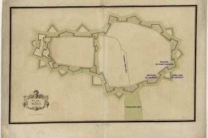 Plan de Nancy à l'époque de Charles III