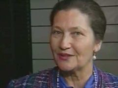 Simone Veil (capture EuroNews)