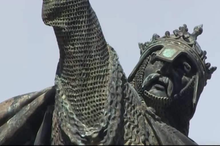 Guillaume le Conquérant, roi d'Angleterre.