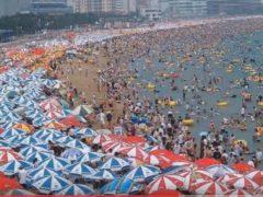 Les Chinois à la plage (PlanImages95)