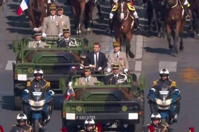 Défilé du 14 juillet 2017: la crise couve entre le président et le chef d'état-major des armées (capture site de l'Elysée)