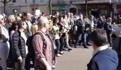 Marche blanche à Paris à la mémoire de Sarah Halimi
