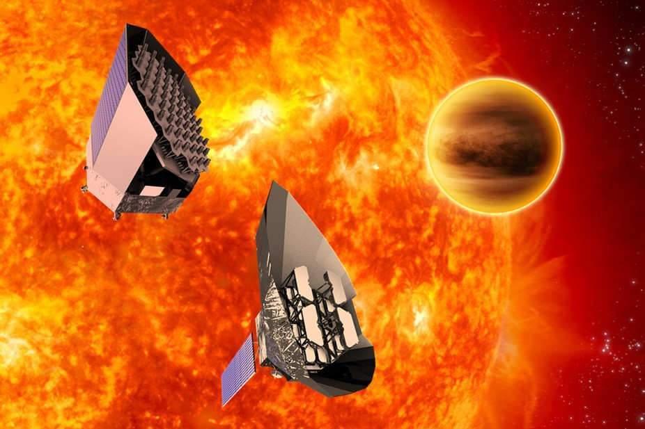 Les deux concepts de sondes pour la mission Plato. ESA, CC BY