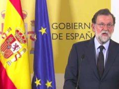 Mariano Rajoy, président du Gouvernement d'Espagne décrète trois jours de deuil (France 24)
