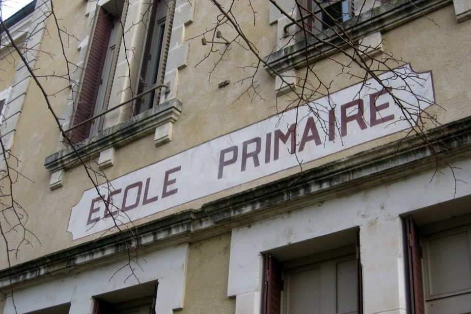 Ecole primaire, La Roche de Glun, France. Allison Meier/Flickr, CC BY-SA