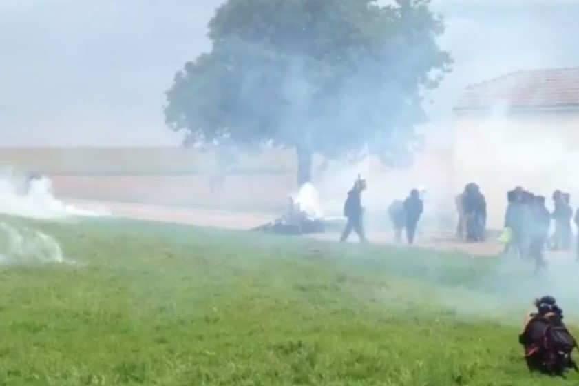 Baston à Bure: plusieurs blessés